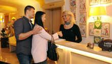 Hotellets personale byder Jer velkommen og står gerne til rådighed, når I skal planlægge jeres dagsudflugter fra hotellet