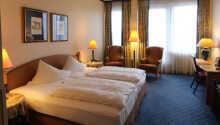 Exempel på ett av hotellets rum.