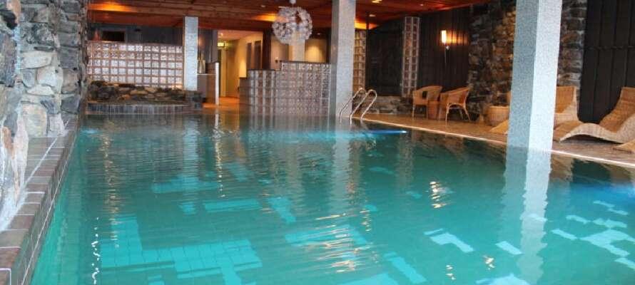 Quality Hotel Grand Kongsberg har också en wellness-avdelning, perfekt för avkoppling under semestern!