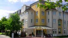 ACHAT Comfort Messe-Leipzig ligger i ett lugnt område utanför den spännande staden Leipzig i forna Östtyskland.