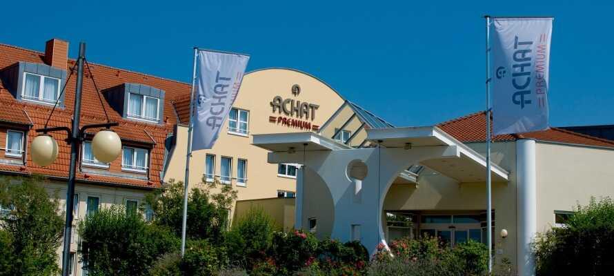 Tilbring noen herlige dager på et moderne hotell i grønne omgivelser, i hjertet av Rhein-Neckar regionen.