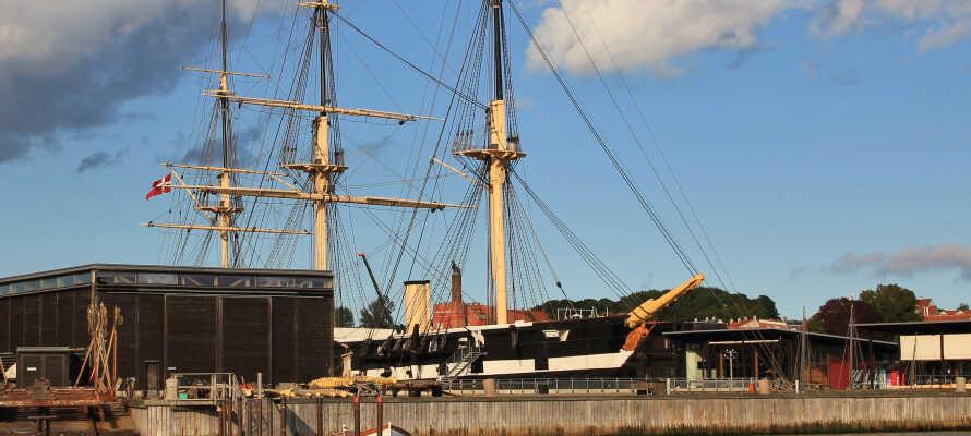 Upplev äkta historiska berättelser om vilda sjöslag på Fregatten Jylland.