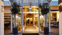 Ebeltoft Park Hotel har en vakker beliggenhet nær stranden ved Ebeltoft Vig på Djursland