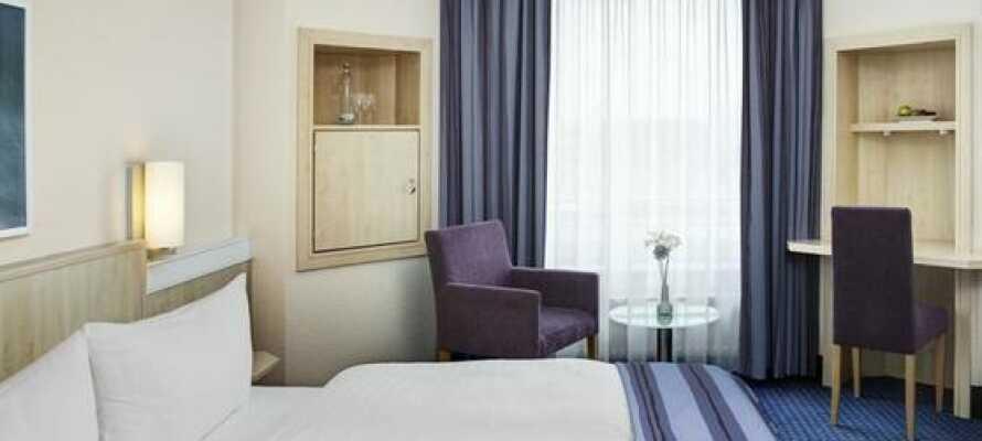 InterCity Kiel Hotel har dejlige værelser og er placeret tæt ved centrum af Kiel.