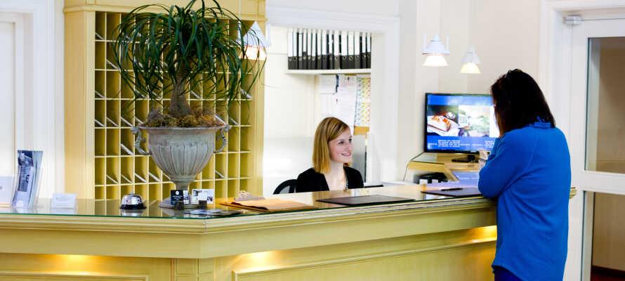 Det hyggelige Hotel am Schloss Ahrensburg har en god beliggenhed lige ved det smukke Ahrensburg Slot, tæt på storbyen Hamborg.