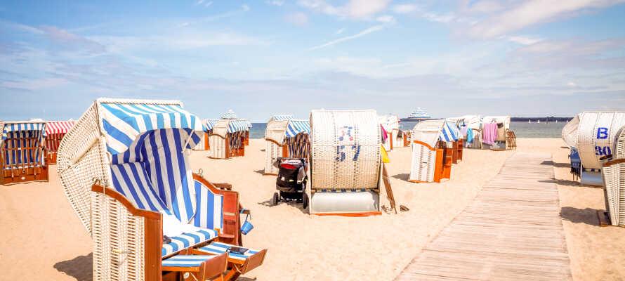Ved Travemünde og Timmendorfer Strand kan I nyde livet ved de flotte strande eller besøge Sea Life Aquarium.