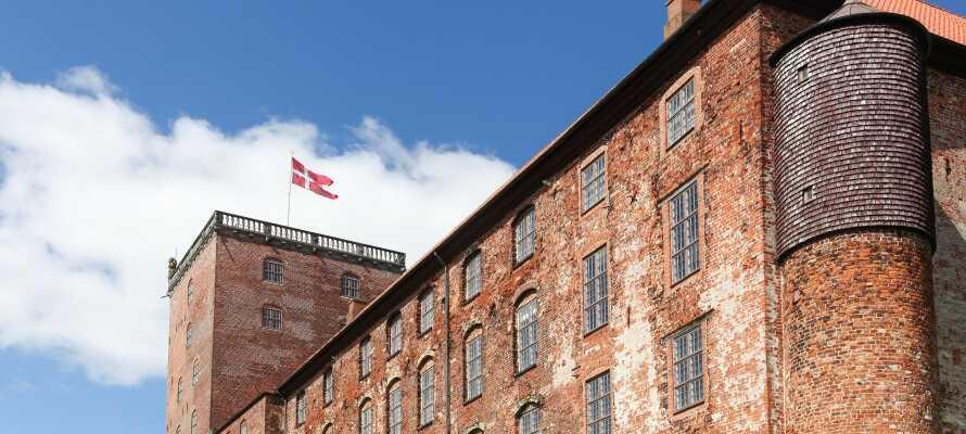 Tag på en rejse tilbage i tiden med et spændende besøg på Koldinghus