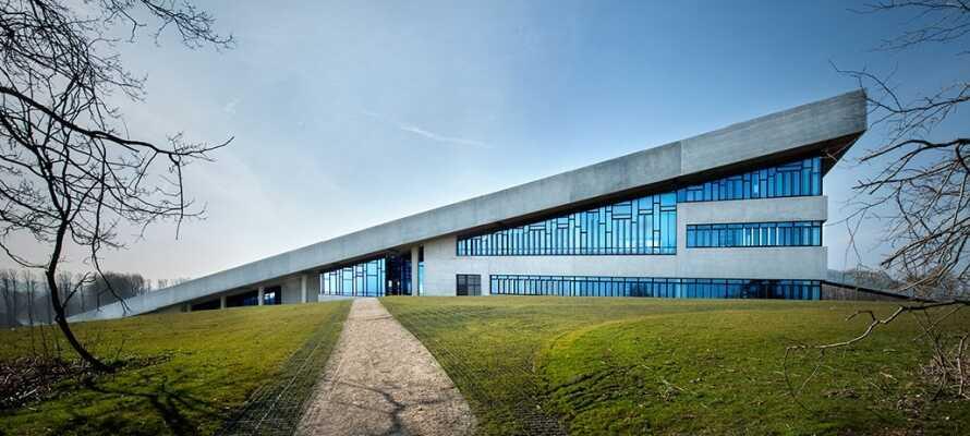 Oplev det flotte Moesgård Museum og få indblik i dansk kulturhistorie.