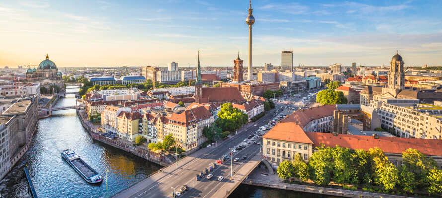 Nyt en storbyferie på Hotel Domicil Berlin, som har en rolig beliggenhed i Berlins eldste fotgjengersone.