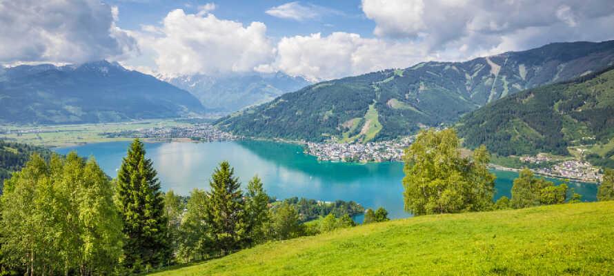 Das Hotel befindet sich in der atemberaubenden Bergwelt von Salzburg.