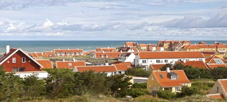Det är endast 35 km till en av Danmarks populäraste semesterstäder, Skagen.