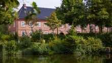 Hotel Pelli Hof Rendsburg ligger skønt i Rendsburg