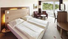 Här bor ni i omsorgsfullt inredda rum, som fungerar som en bra för er vistelse.