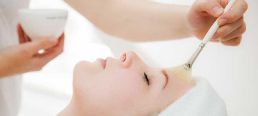 Hotellet tilbyder forskellige kosmetiske behandlinger og massager mod et gebyr.