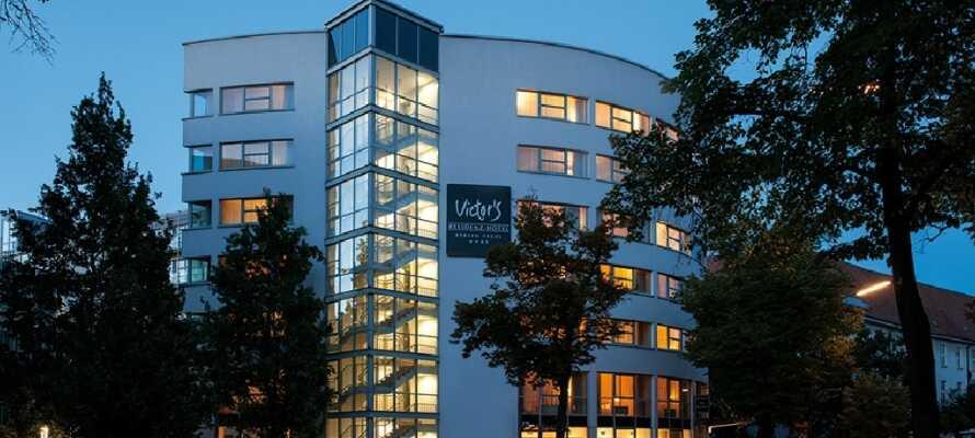 Hotel Berlin Tegel ligger rett utenfor sentrum av Berlin men med gode forbindelser til byens sentrum.