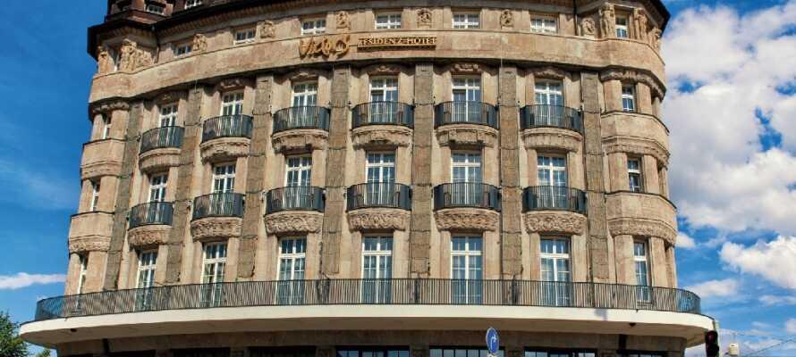 Hotellet finne ni i hjärtat av den tyska delstaten Sachsens största stad, Leipzig, som erbjuder massor av sevärdheter.