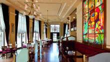 Das Hotel ist in stilvoller Umgebung eingerichtet.