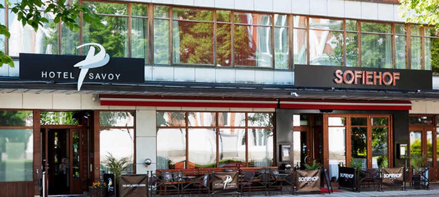 Das Hotel liegt in Jönköping, am südlichen Strand des Vättern, nicht weit von der herrlichen Umgebung entfernt.