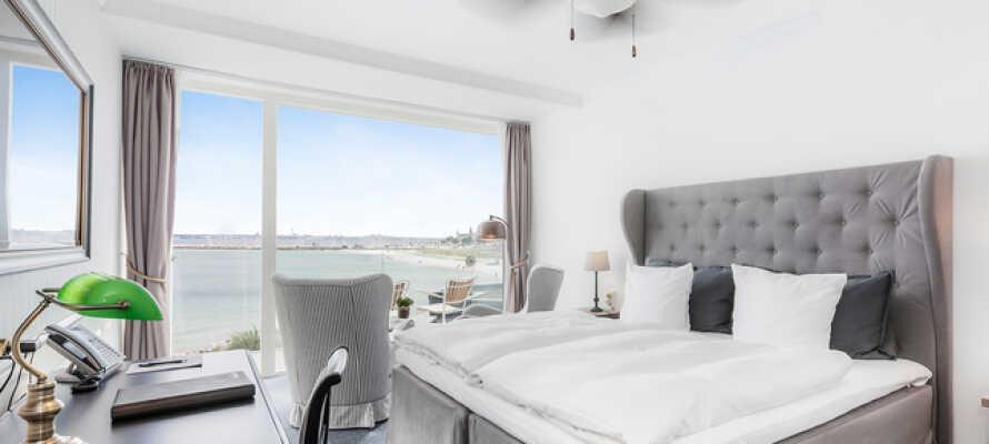 Marienlyst Strandhotel är ett historiskt strandhotell med en avkopplande och lyxig atmosfär.