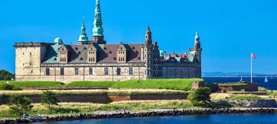 Fra hotellet har dere ikke langt til f.eks. Kronborg og Louisiana Museum for Moderne Kunst.