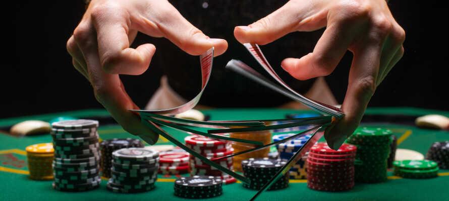 Som övernattande gäster på Marienlyst Strandhotel har ni dessutom fri entré till Marienlyst Casino.