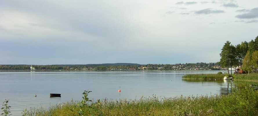 Området omkring Arvika er preget av mange innsjøer.