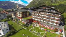 Hotel Germania Gastein ligger midt i den smukke østrigske by, Bad Gastein