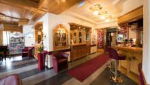 Morgenmadsrestauranten tilbyder varme omgivelser som indbyder til afslapning og hygge