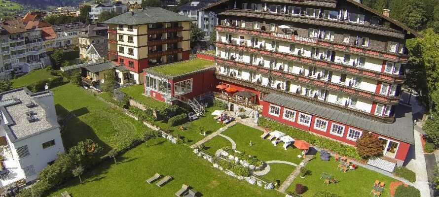 Velkommen til Hotel Germania! Midt i byen Bad Hofgastein.