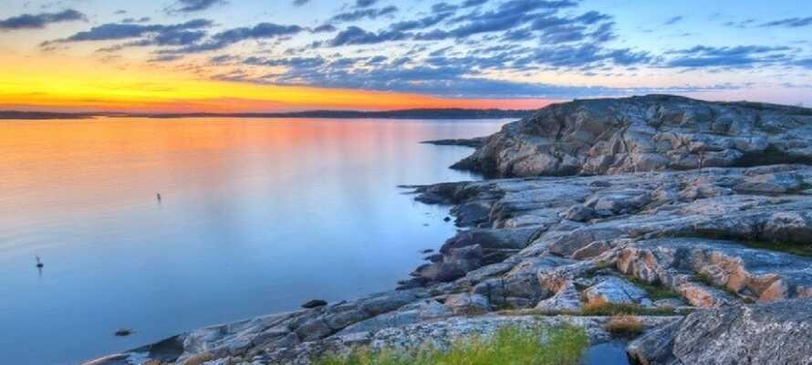 Hotellet ligger i ett härligt område i Nyköping där ni kan uppleva den vackra skärgården.