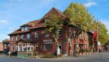 Hotellet ligger tæt på den historiske by, Lüneburg