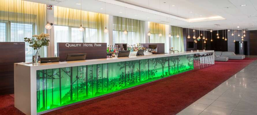Quality Hotel Park Södertälje välkomnar er till sin inbjudande atmosfär, med moderna och trevliga faciliteter!
