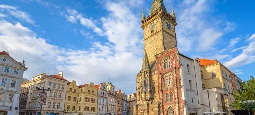 Prag er et levende historie- og kulturcentrum og byder på masser af uforglemmelige oplevelser for folk i alle aldre.