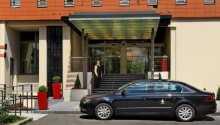 Hotel Duo byder på 4 stjerner og er et rigtig dejligt hotel.