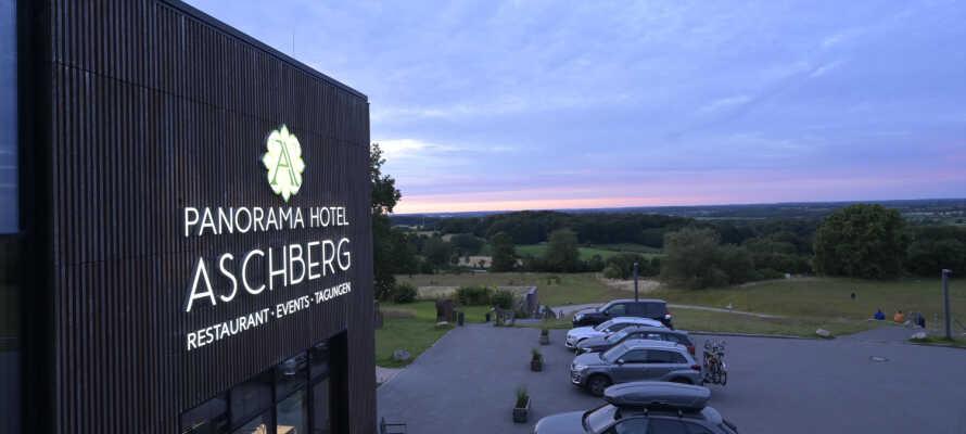 Det 4-stjerners Panorama Hotel Aschberg ligger i rolige omgivelser, ideelt for et avslappende opphold i den vakre naturen.