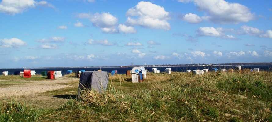 Das Hotel liegt wunderschön an der Ostseeküste im Norden von Deutschland, nur wenige Minuten vom Strand entfernt.
