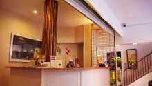 Hotel Skandia er et lille hyggeligt hotel med et stort hjerte