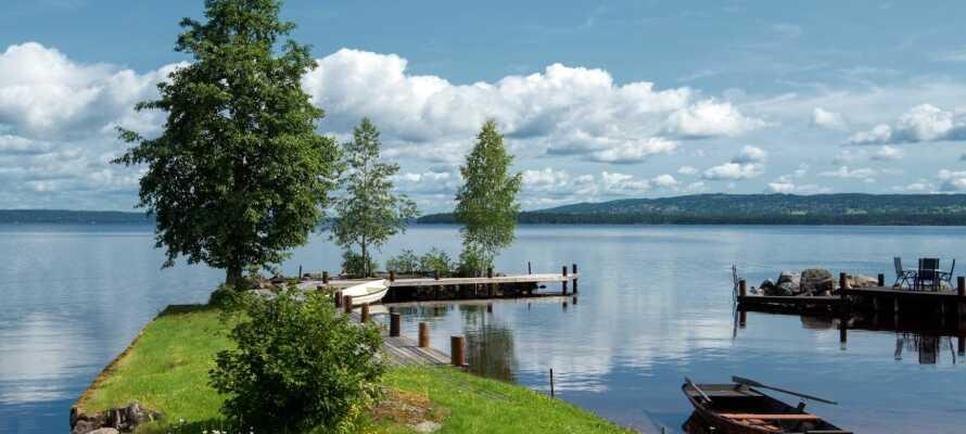 Dette hotellet ligger i naturskjønne omgivelser i Insjön like ved Siljan, Sveriges nest største innsjø.