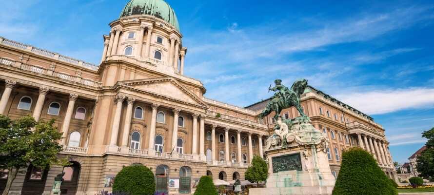 Budapests kungaslott är en nationalsymbol och används idag av presidenten och finns på UNESCO:s världsarvslista.