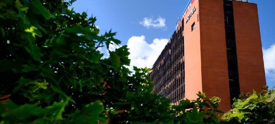 Hotellet er en perfekt base for en opplevelsesrik ferie på Sjælland,  kun 20 km fra København