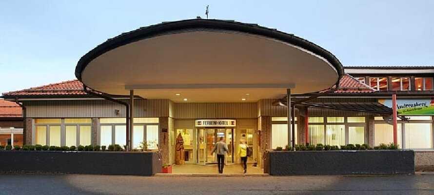 Velkommen til det moderne hotel i Sankt Andreasberg, Harzen.