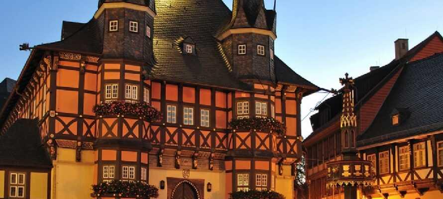 Tag på en tur til hyggelige Wernigerode.