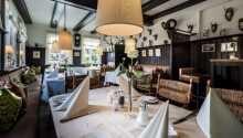 Restauranten byder på god mad i hyggelige omgivelser