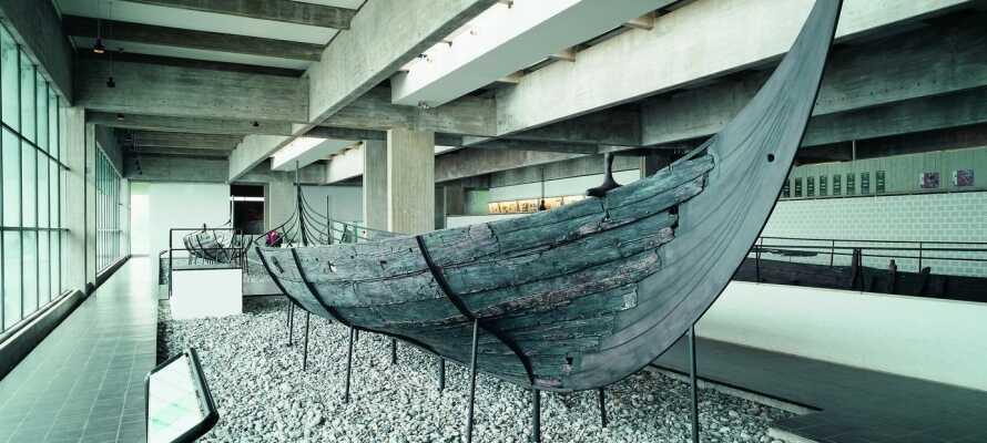 Vikingmuseet i Roskilde er en spennende opplevelse for hele familien.