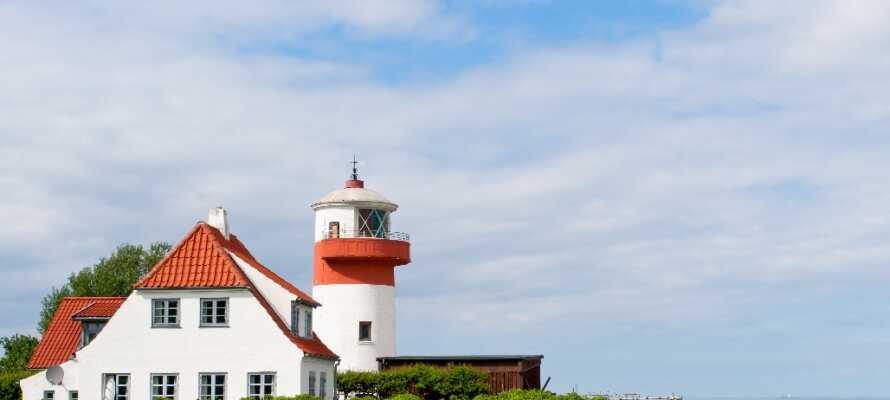 På Langeland är det naturen som lockar. Här finns 141 km strand, fågelreservat och lummiga skogar.
