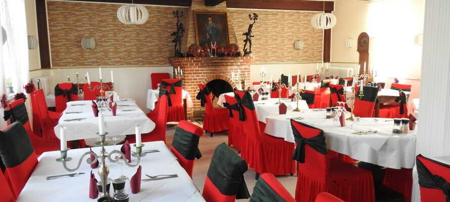 Nyt den autentiske afrikanske maten i den koselige kro restauranten.