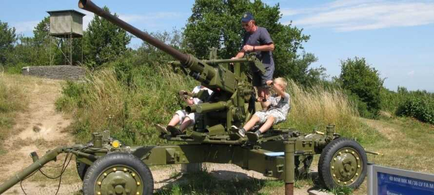 Opplev den kalde krigen på nært hold med en spennende tur rundt på Koldkrigsmuseet Langelandsfortet.