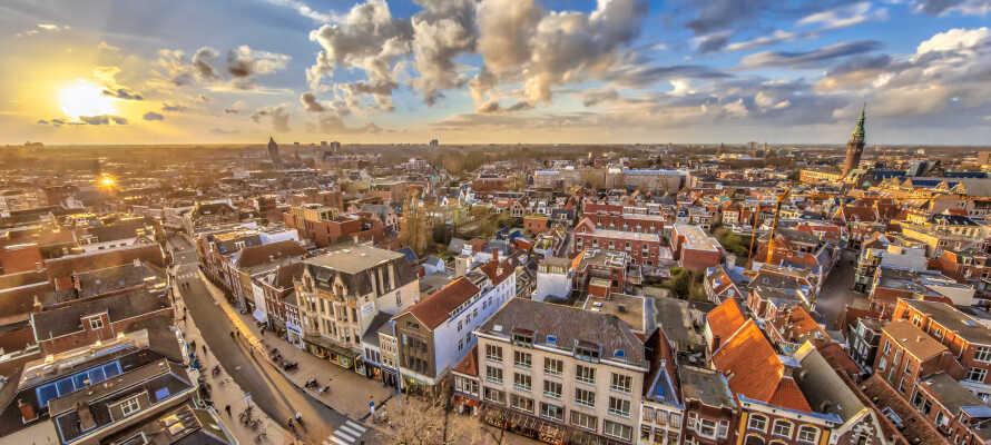 Kulturbyen Groningen ligger mindre enn 10 km. fra hotellet og har mye å by på.