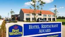 Best Western Plus Hotel Aduard har ett härligt läge mitt i naturen.