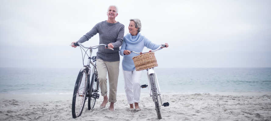 Oplev den smukke nature og området på 2 hjul og lej en cykel på hotellet.